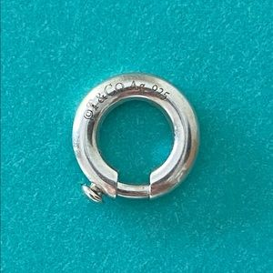Tiffany & Co. Jewelry - NEW Tiffany & Co. Sterling Silver Charm Jump Ring